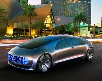 Mercedes F 015 Luxury in Motion