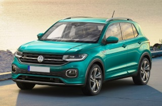 Кроссовер Volkswagen T-Cross 2019 года
