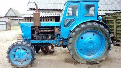 Трактор ЛТЗ