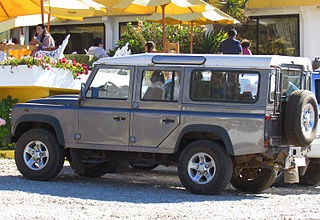 Land Rover Defender 110 2009 года