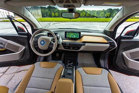 BMW i3 eDrive, интерьер