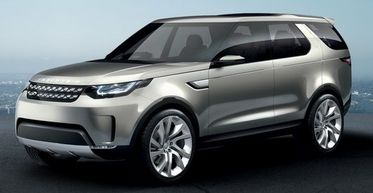 Land Rover Discovery Vision, авторынок