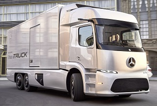 Концепт Mercedes Urban eTruck