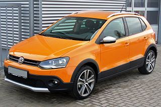 Volkswagen Cross Polo 2014 года