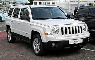 Jeep Patriot 2011 года
