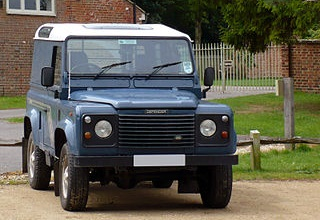 Land Rover Defender 90 2009 года